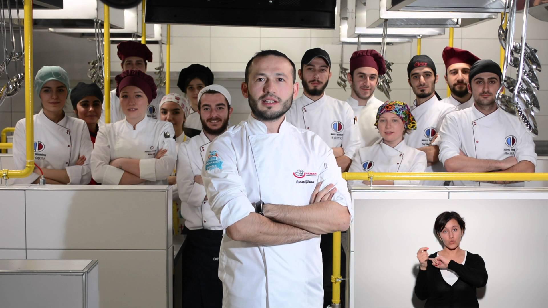 Mengen II. Ulusal Aşçılık Kampı Davet Videosu  (Türk İşaret Dili Yerleştirilmiş-Sözlü)