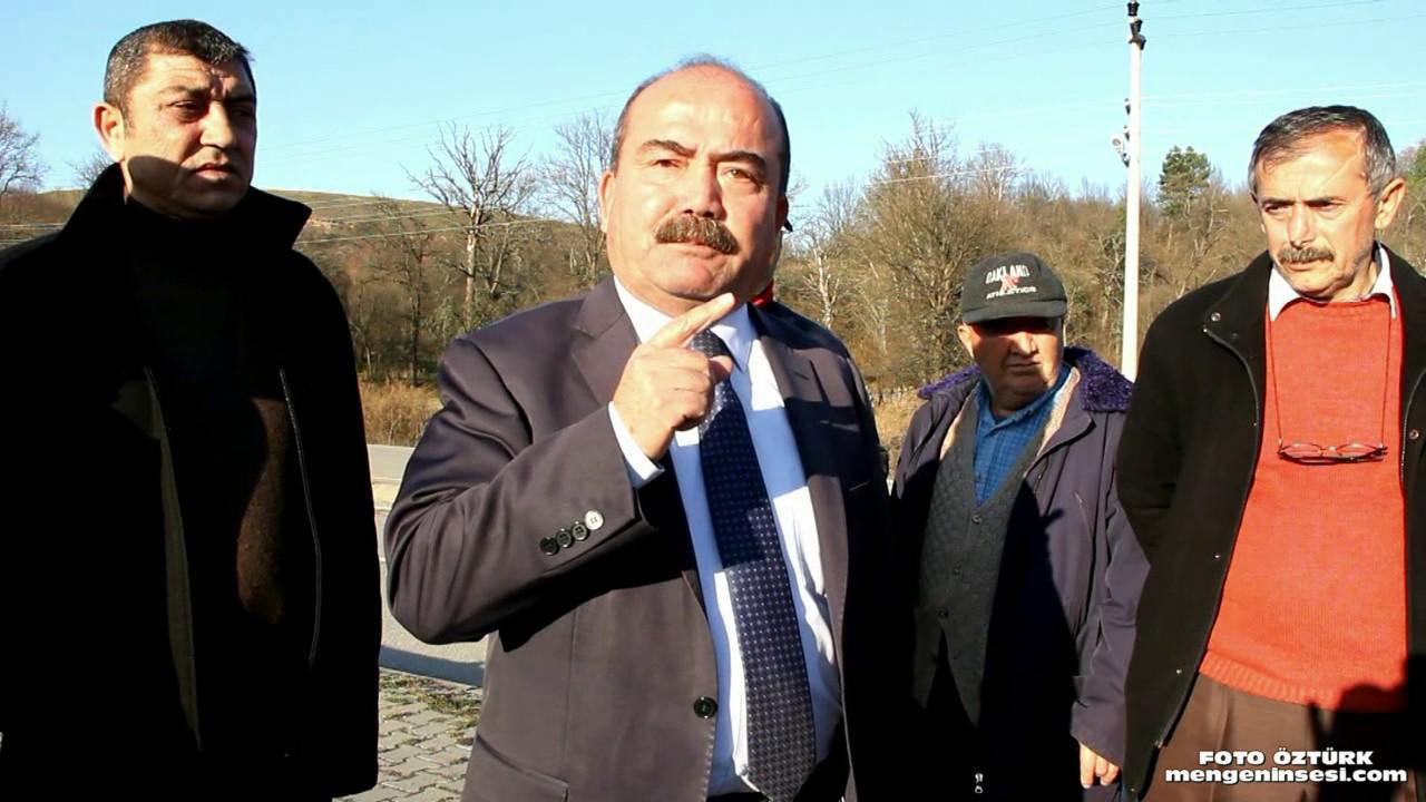Mengen'de Belediyenin Diktiği Fidanları Kestiler