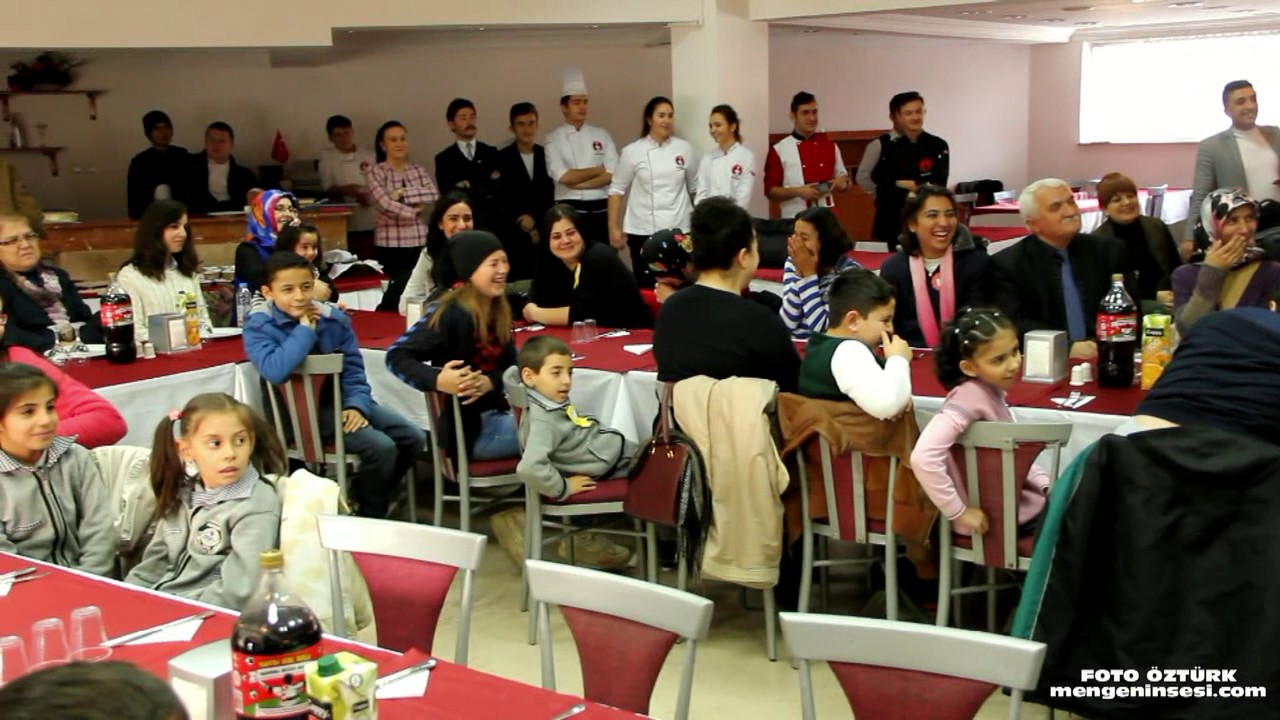 En anlamlı etkinlik Mengen Aşçılık Lisesi'nde gerçekleştirildi
