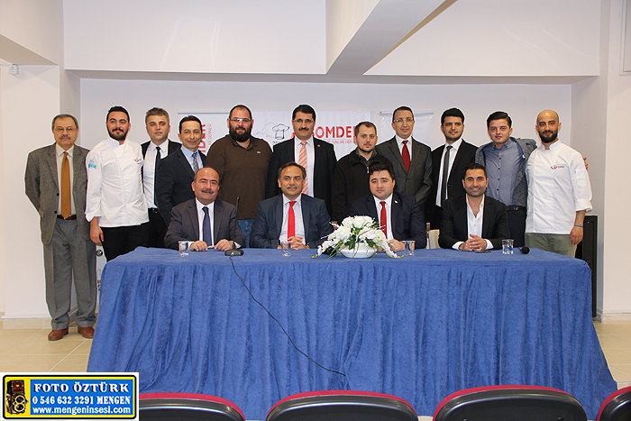 lll. Ulusal Aşçılık Kampı Protokolü Mengen'de imzalandı