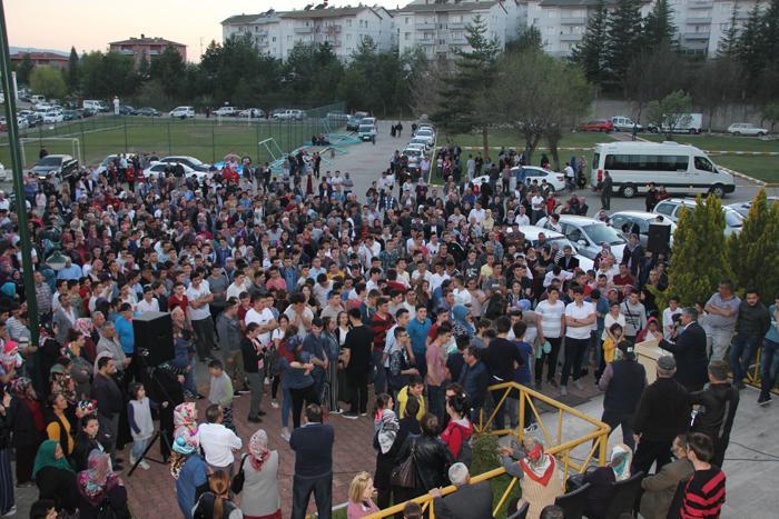 Mengen'de Liseli Aşçılar Staj İçin uğurlandılar