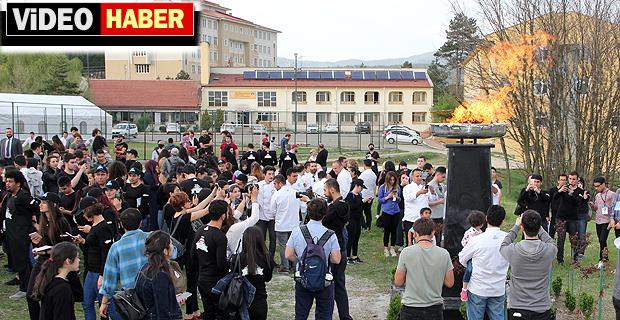 Ulusal Aşçılık Kampı,kamp ateşinin yanması ile başladı