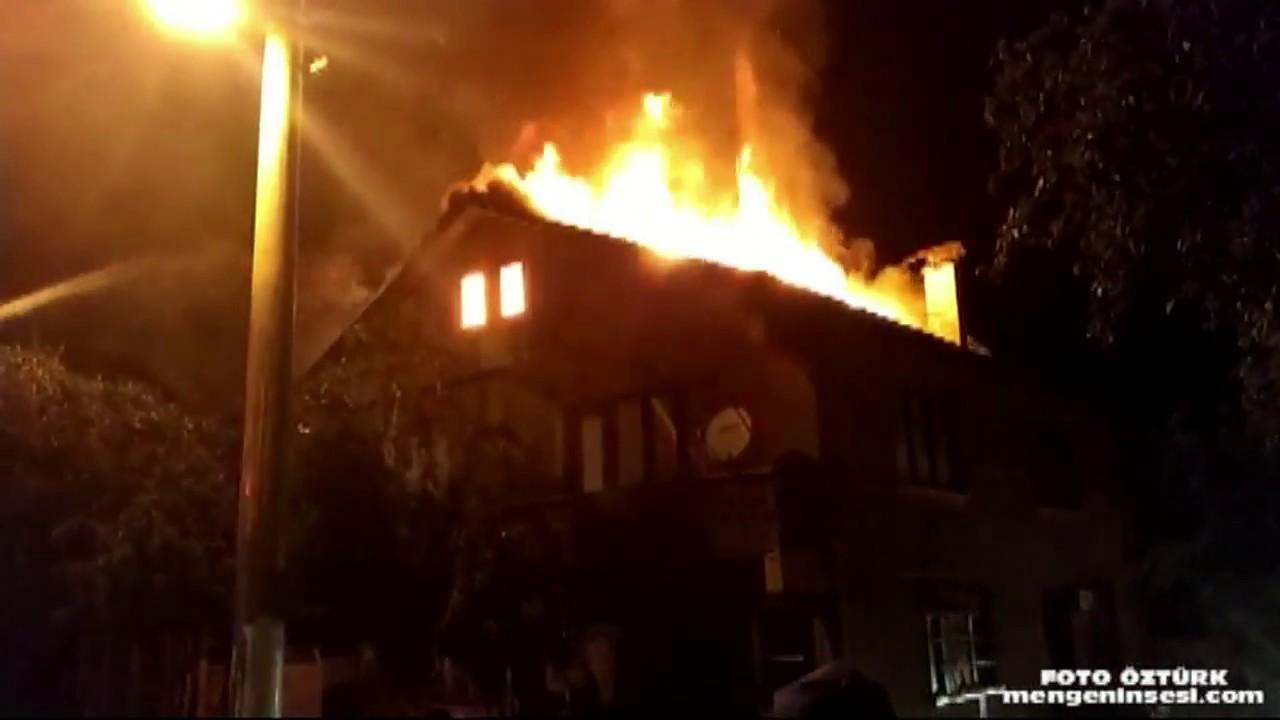 Pazarköyde  Fırın yangını korkuttu