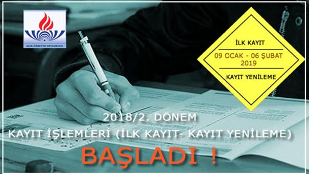 Açık Öğretim Ortaokulu ve Açık Öğretim Lisesi 2. Dönem Kayıtları Başlamış olup Sınavları Artık Mengen'de Yapılacaktır.