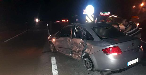 Mengen'de trafik kazası: 1 ölü, 5 yaralı