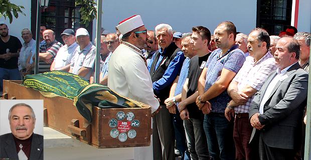 FARUK ŞENTÜRK GÖZYAŞLARI ARASINDA TOPRAĞA VERİLDİ