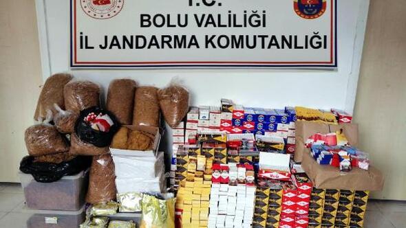 Kaçak tütün operasyonu: 2 gözaltı