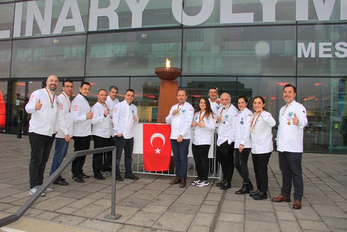 Türk aşçılar, Almanya'dan 13 madalya ile döndü