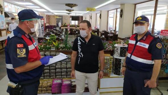 Kurallara uymayanlara toplam 21 bin 980 lira para cezası kesildi