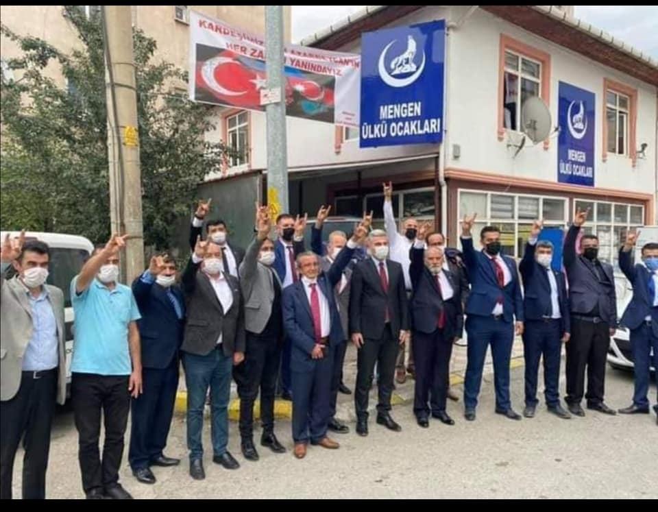 Milliyetçi Hareket Partisi'nin Mengen 13. olağan kongresi yapıldı.
