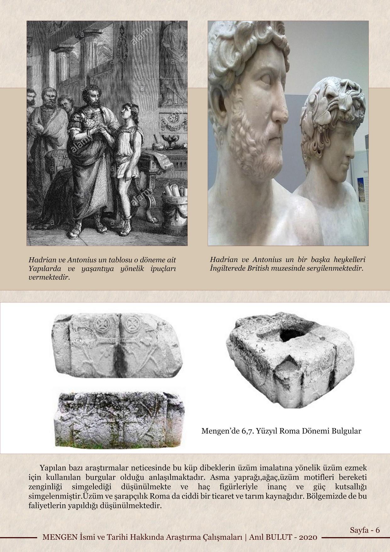 MENGEN İsmi ve Tarihi Hakkında Araştırma Çalışmaları