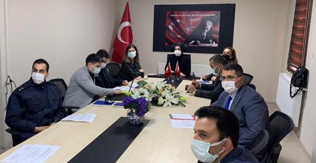 Kadına Yönelik Şiddetle Mücadele Koordinasyon, İzleme ve Değerlendirme Toplantısı Yapıldı.