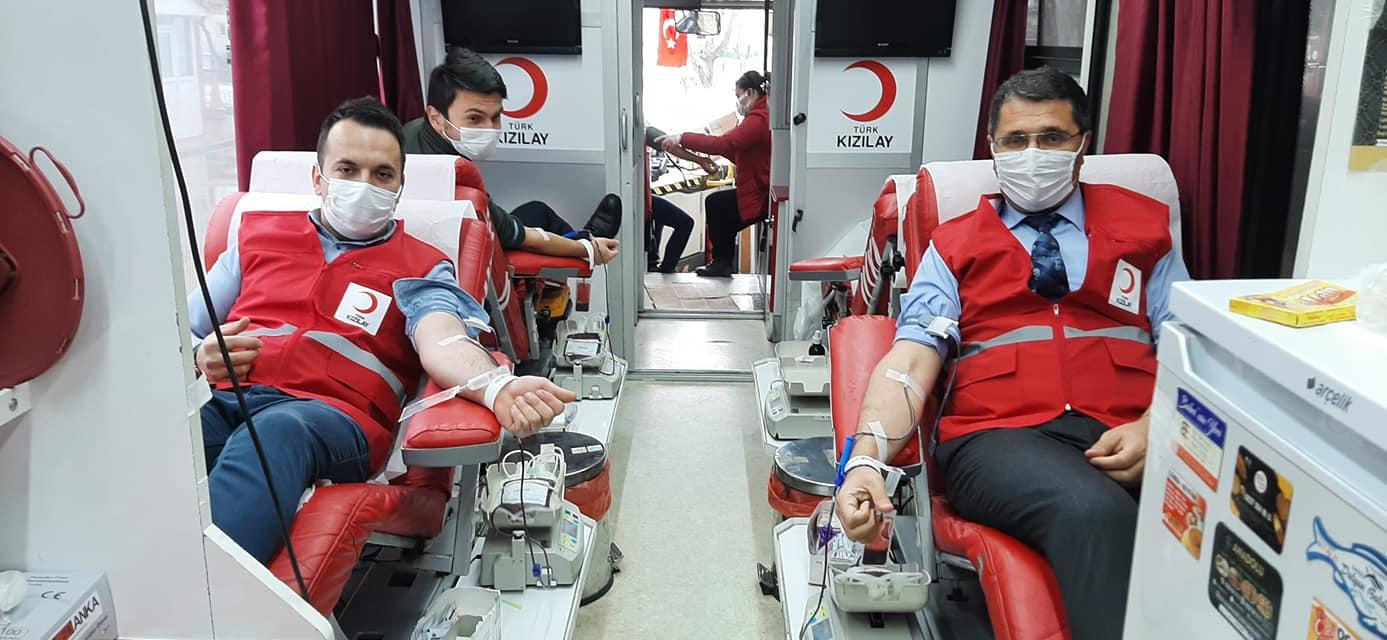 Mengen'de 47 ünite kan bağışı yapıldı