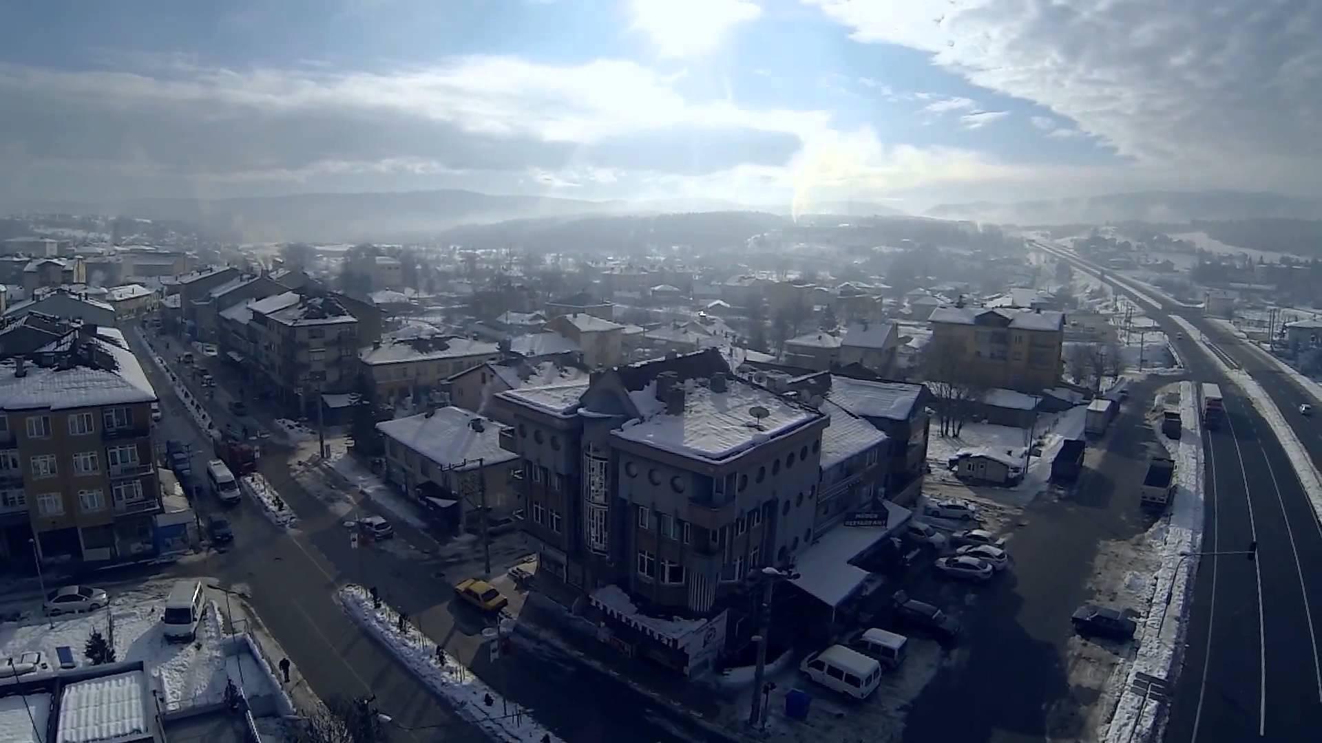 Havadan Mengen Kış Görüntüleri