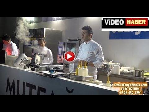 Mengen Aşçılar Kampında Chef Tarkan ÖZDEMİR'den Üç Boyutlu Yemek